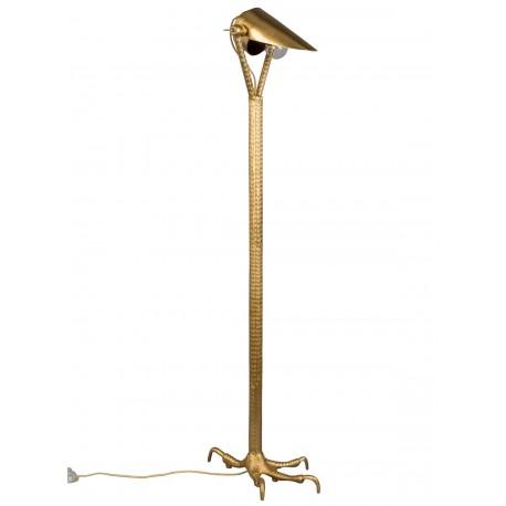 Czarna lampa podłogowa FALCON DUTCHBONE