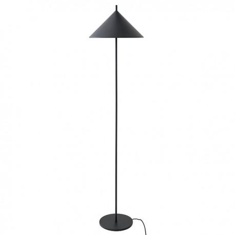 Czarna lampa stojąca TRIANGLE - HK Living