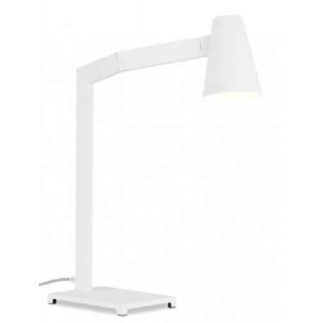 Biała lampka biurkowa Biarritz - It's About RoMi