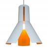 Lampa wisząca pomarańczowo-biała Ori