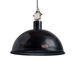 Metalowa lampa industrialna L - czarna