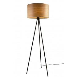 Drewniana lampa podłogowa WOODLAND