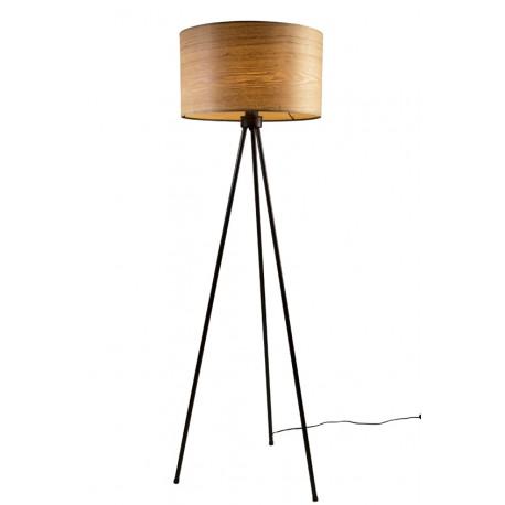Lampa Podłogowa Woodland Z Naturalnego Drewna