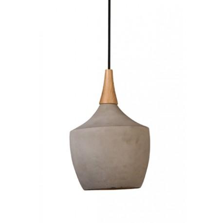 Betonowa lampa wisząca CRADLE CARAFFE - Dutchbone