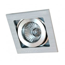 Kwadratowe oczko halogenowe pp-713/1