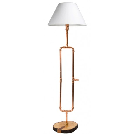 Miedziana lampa podłogowa GIE EL - LGH0010