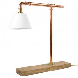 Miedziana Lampka biurkowa (LGH0040) - GIE EL