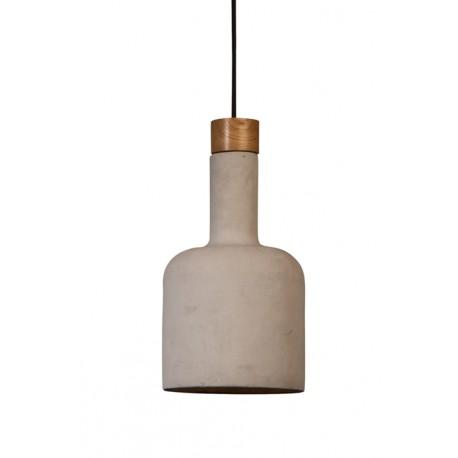 Lampa wisząca betonowa Bottle
