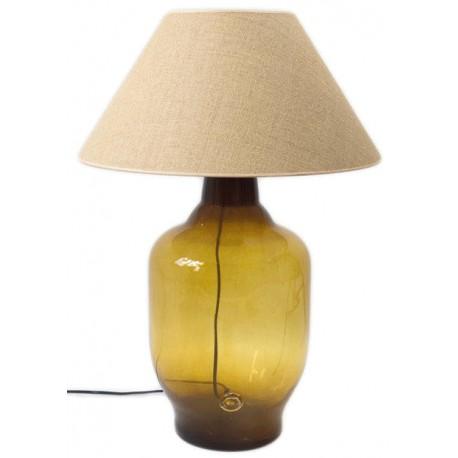 Lampa stołowa marki GIE EL - miodowa