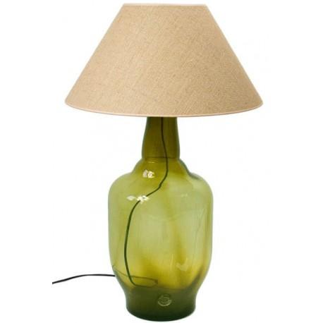 Lampa stołowa marki GIE EL - oliwkowa