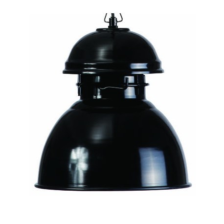 Czarna lampa wisząca Warehouse M - HK Living