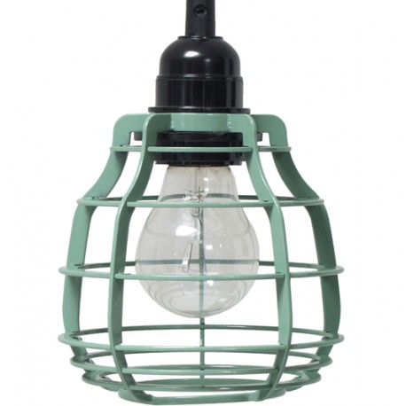Zielona lampa z włącznikiem LAB - HK Living