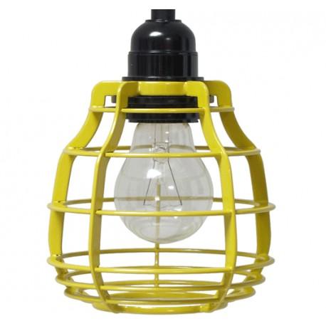 Żółta lampa wisząca LAB - HK Living