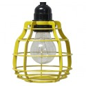 Żółta lampa z włącznikiem LAB - HK Living