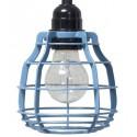 Niebieska lampa z włącznikiem LAB - HK Living