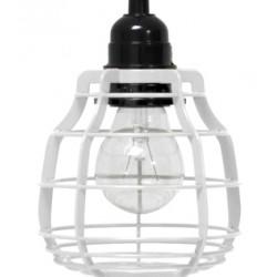 Biała lampa wisząca LAB - HK Living