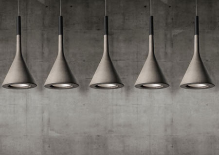 Lampy betonowe - wiszące