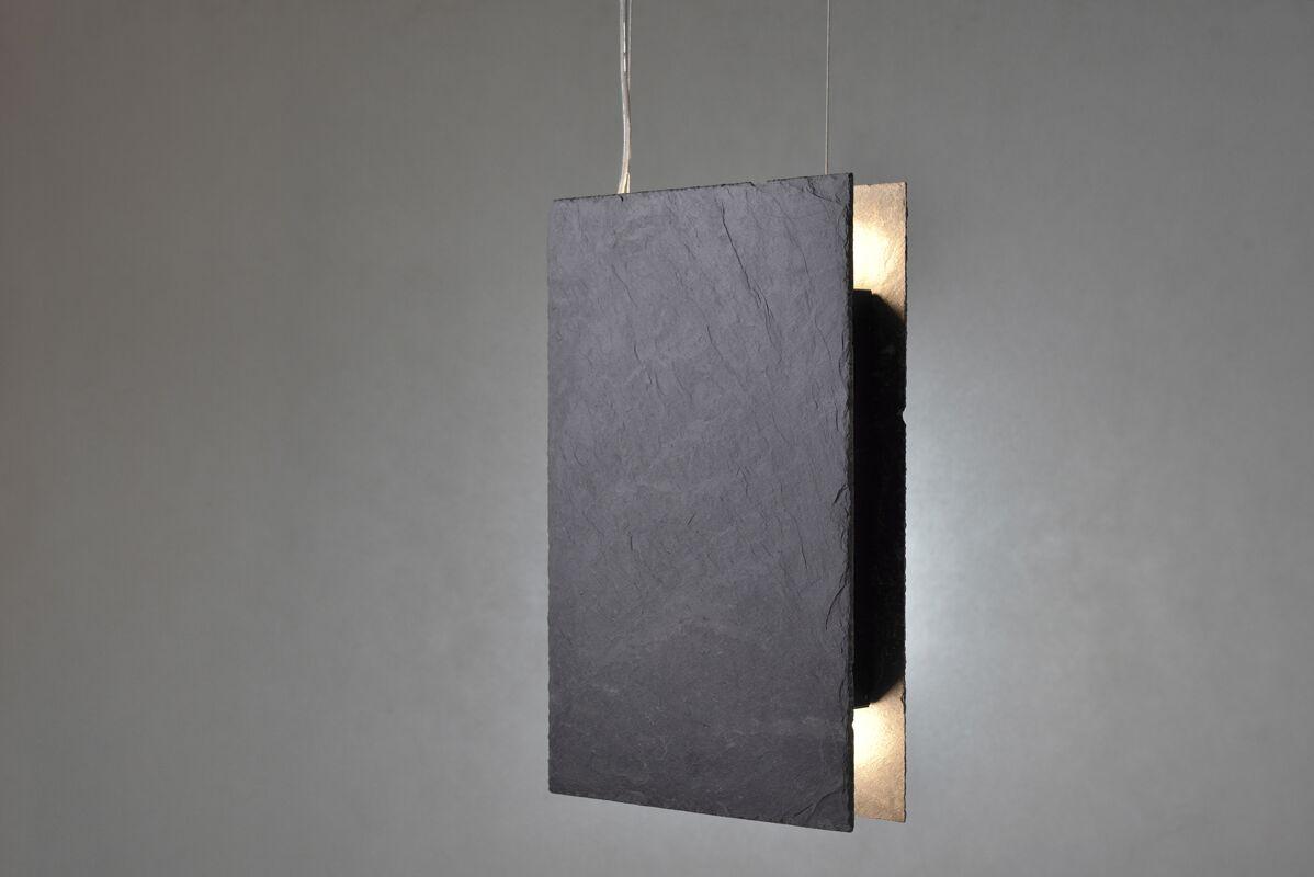 Lampy wiszące z łupka